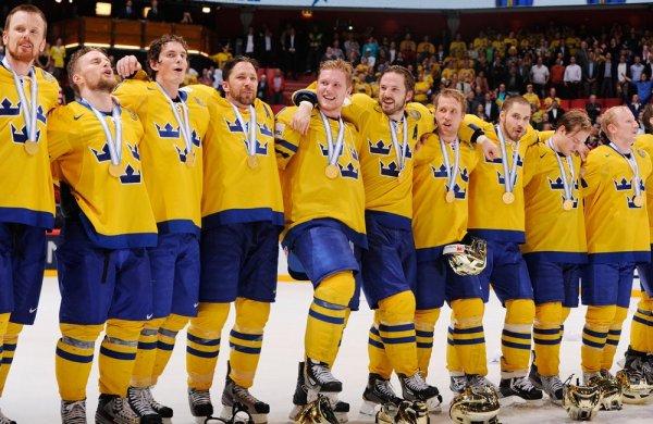 Швеция со счетом 7-0 разгромила Австрию на ЧМ по хоккею