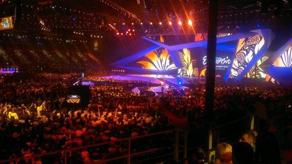 Российское жюри дало низкую оценку выступлению украинского певца на «Евровидении»