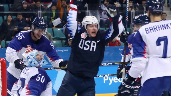 Сборная США разгромила Норвегию в матче ЧМ со счетом 9-3