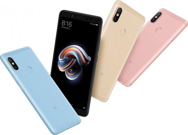 В России был презентован безрамочный смартфон Xiaomi Redmi Note 5 Pro