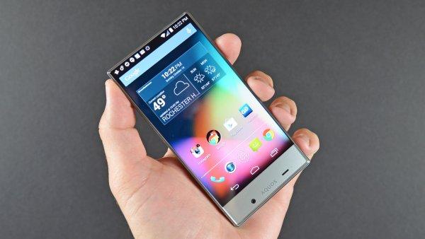 Компания-производитель Sharp готовит к выпуску смартфона среднего уровня