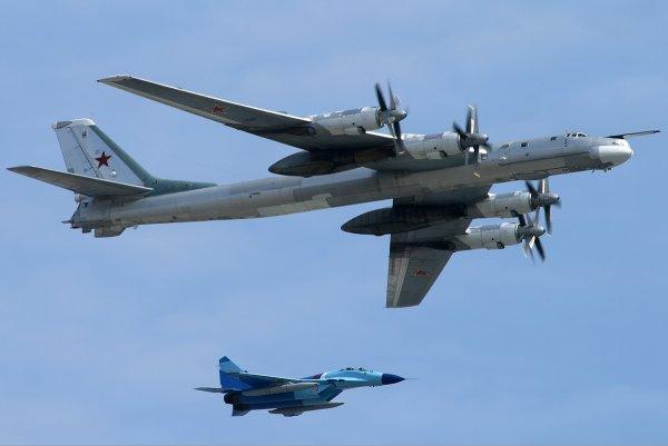 Американцев у Аляски застали врасплох самолёты ВКС