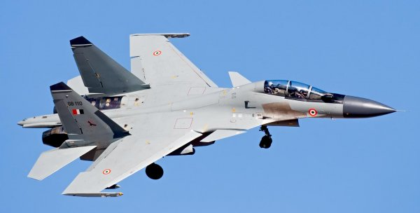 Российский Су-30МКИ с легкостью засек китайский самолет-невидимку
