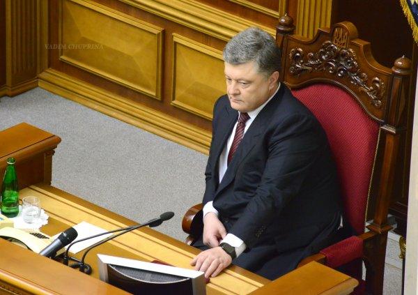 Порошенко заявил о возможной смене статуса Крыма