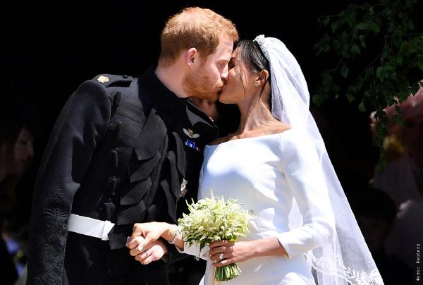 Спутники из космоса зафиксировали невероятные кадры со свадьбы принца Гарри и Меган Маркл