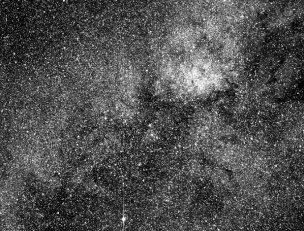 Телескоп TESS миссии NASA прислал первое фото звездных скоплений