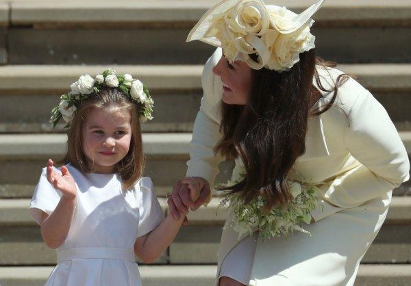 Дочь Кейт Миддлтон и принца Уильяма назвали маленькой Дианой