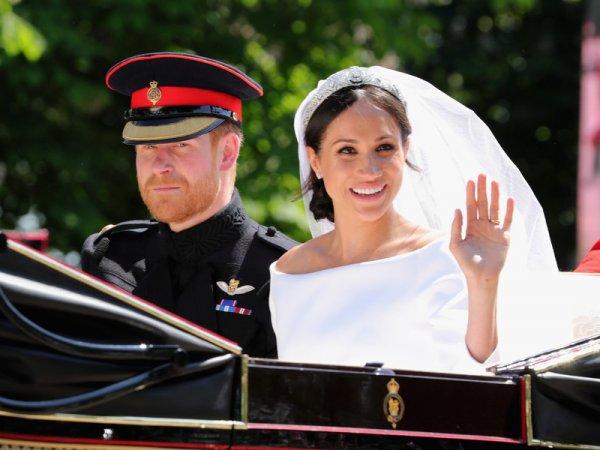 Свадебный Jaguar принца Гарри и Меган Маркл оценили в $500,000