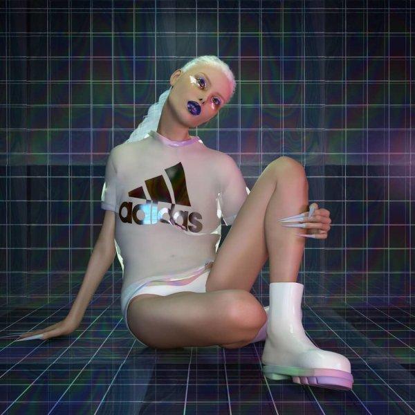 Художница из Берлина удивила CGI-Вселенной с Кардашьян и Windows 95