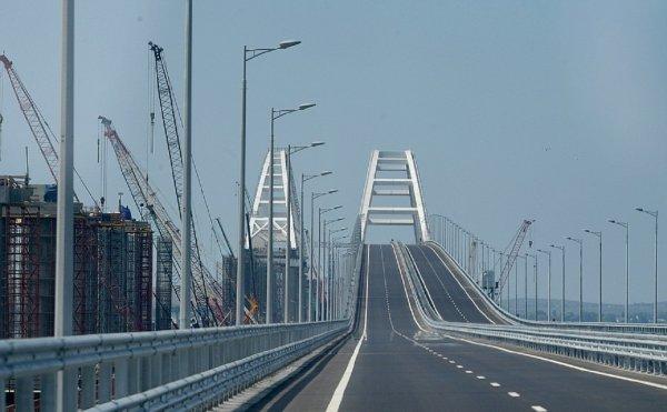 Зрители украинского телеканала: Крымский мост является
