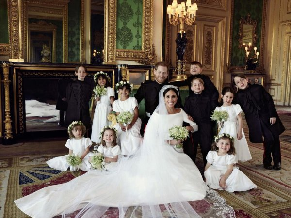 Свадьба принца Гарри и Меган Маркл: В Сети появились первые официальные фотографии
