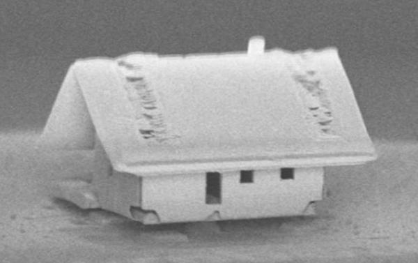 Роботы создали самый маленький дом на Земле