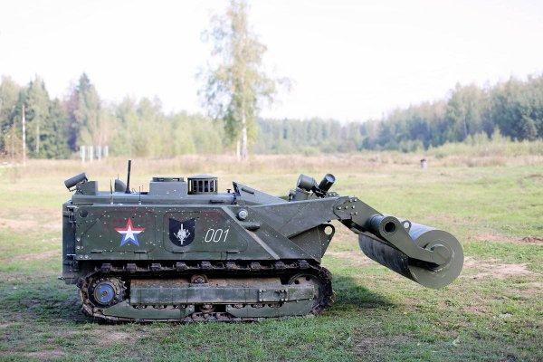 На вооружение армии РФ в 2018 году поступят роботы «Уран-6», «Скарабей» и «Сфера»