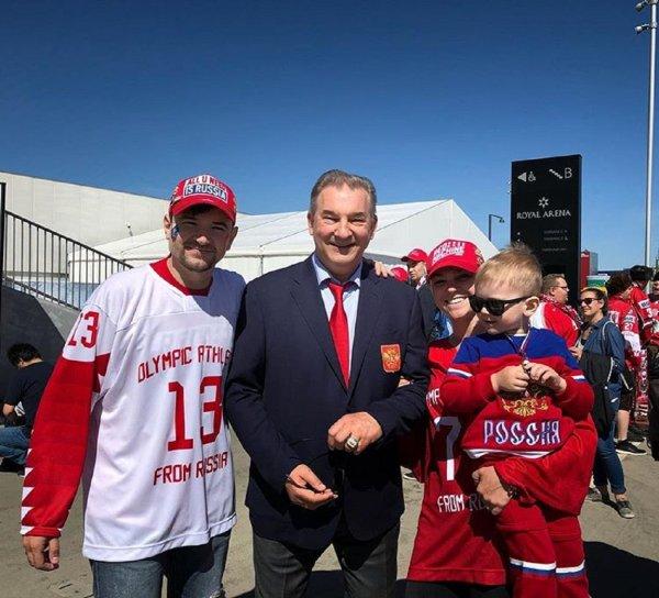 Президент федерации хоккея России рассказал о победах и неудачах сборной