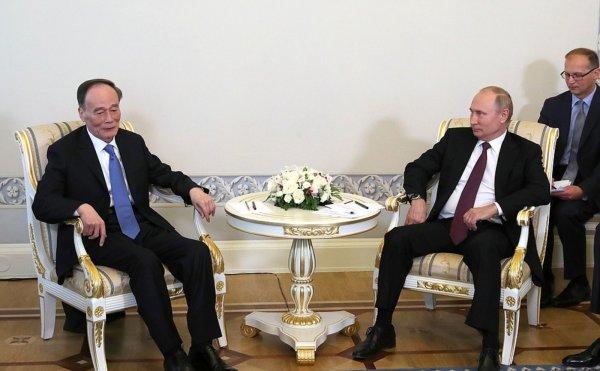 Путин оценил отношения России и Китая