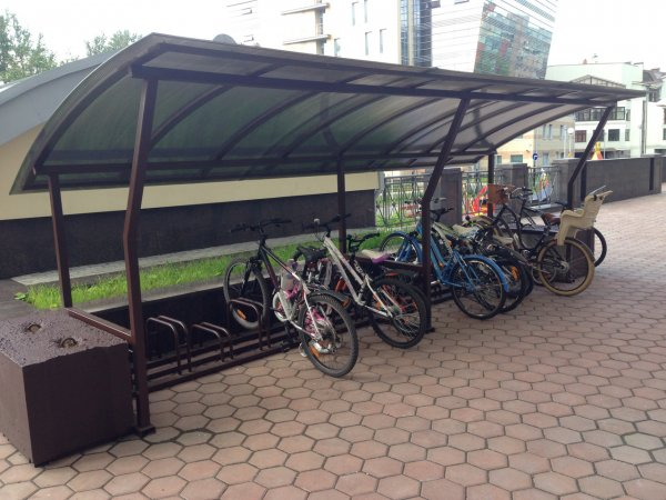407 велостоянок и 195 километров велодорожек появится на западе Москвы