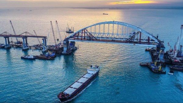 Великая княгиня Мария Романова испытает Крымский мост