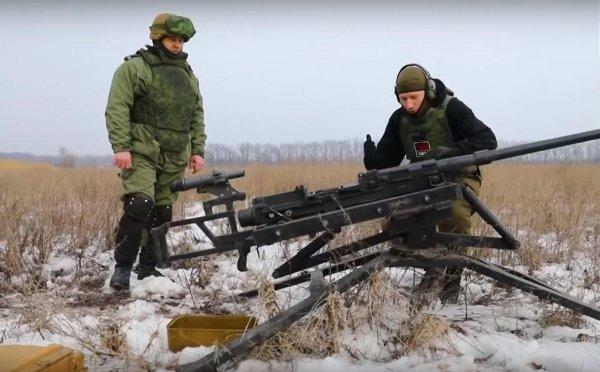 В ДНР провели испытания мощнейшей в мире винтовки