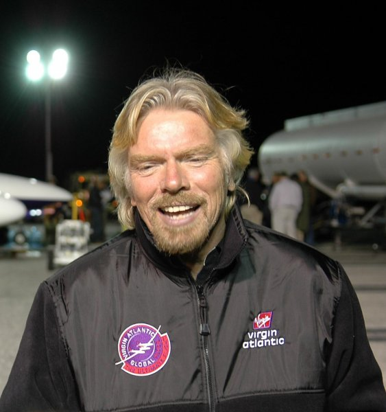 Миллиардер Ричард Брэнсон решил стать «космическим туристом»