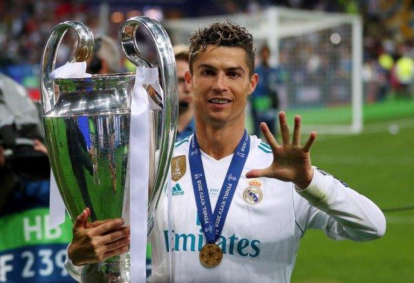 Криштиану Роналду предложил присвоить Лиге чемпионов свое имя