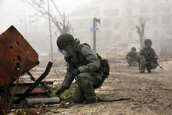 В Чите состоялась церемония погребения россиян, погибших в Сирии