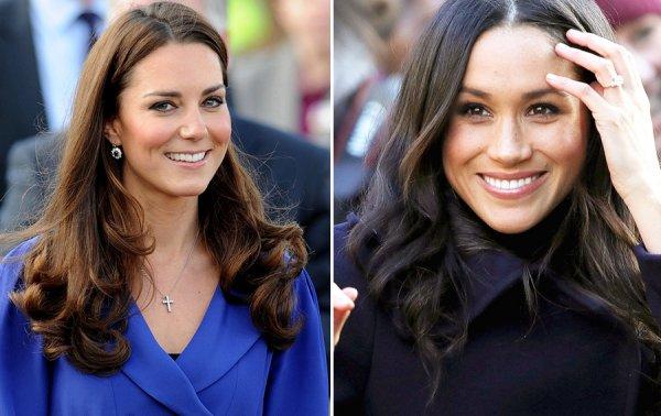 Меган Маркл и Кейт Миддлтон будут иметь одну королевскую должность на двоих