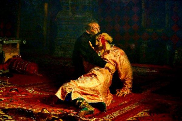 Минкультуры требует жесточайше наказать вандала, повредившего картину Репина