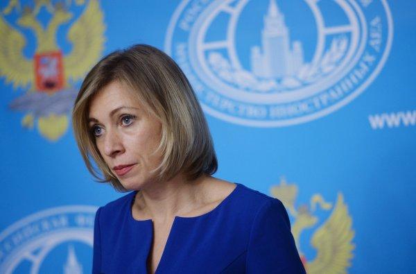 Захарова рассказала об истинных мотивах антироссийских санкций