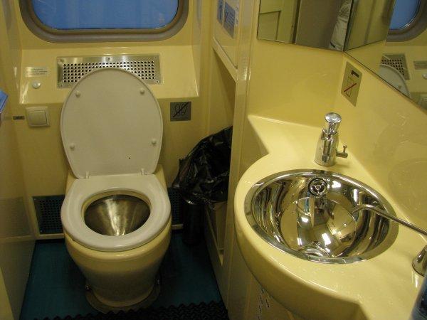 В российских поездах появятся новые биотуалеты