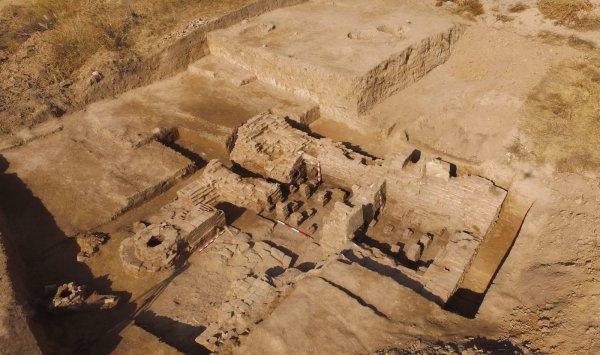 В центре Воронежа археологи откопали фрагменты крепости XVI-XVII веков
