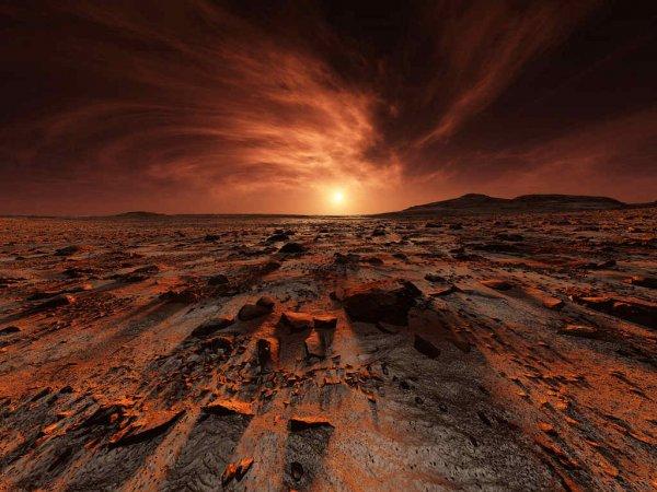 Популярный уфолог нашел на Марсе необычную полусферу
