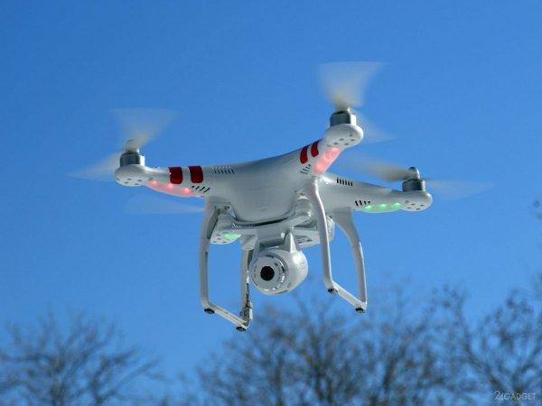 Во Франции изобрели меняющий форму дрон для полета в узких местах
