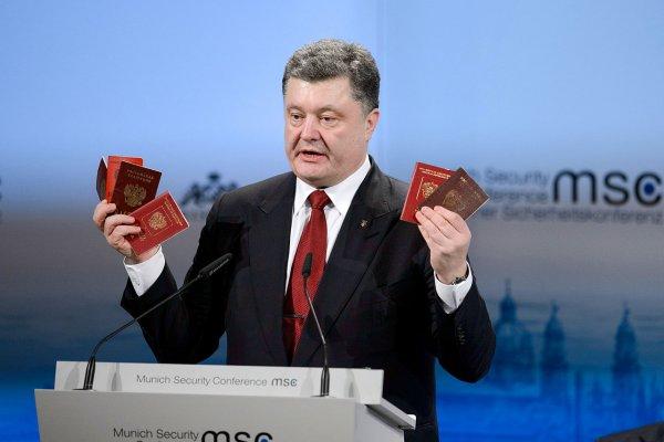 Вышинский попросил Путина о защите и отказался от гражданства Украины