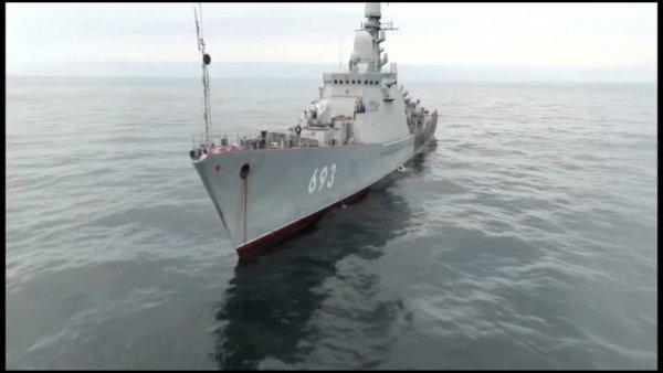В состав Черноморского флота поступил корабль с «Калибрами»