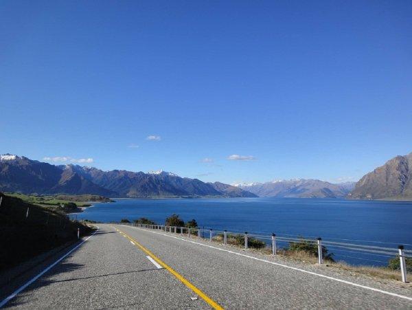 Житель Новой Зеландии обвел дорожные ямы изображением пениса