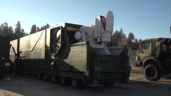 Россия разработала фургон для боевого лазера «Пересвет»