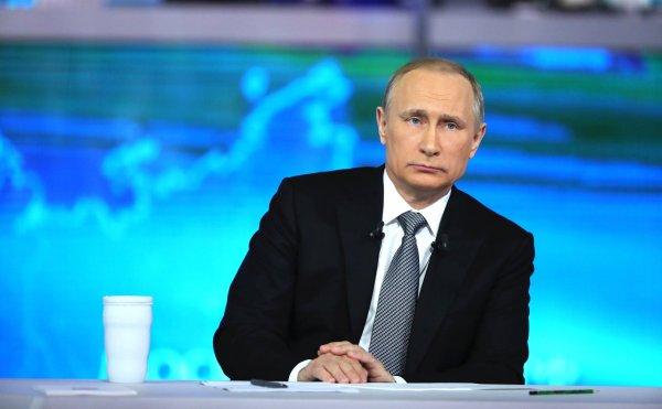 Более 1,7 млн вопросов поступило на «прямую линию» с Владимиром Путиным