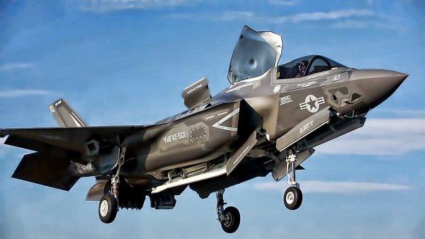 В Великобританию прибыли американские истребители F-35B