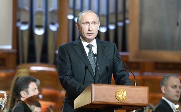 Путин объяснил, почему Россию постоянно в чём-то обвиняют