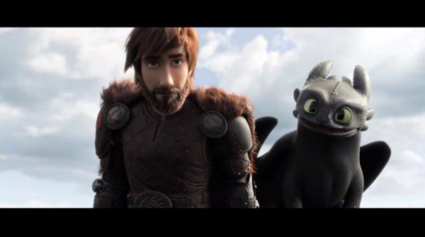 Вышел трейлер последней части трилогии «Как приручить дракона»