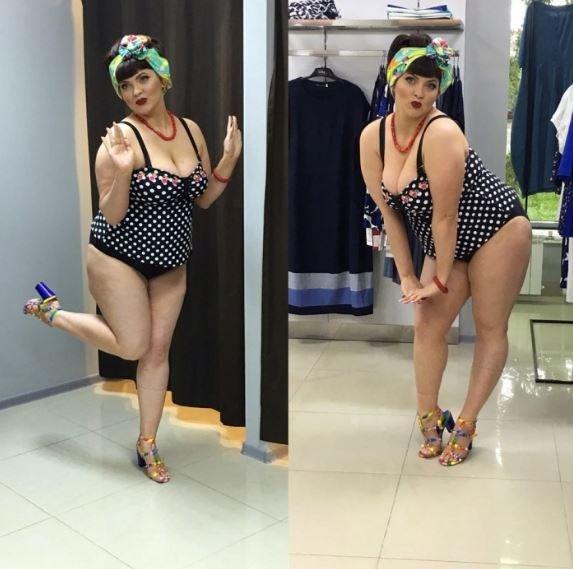 В Омске уволили учительницу за фото в купальнике plus size