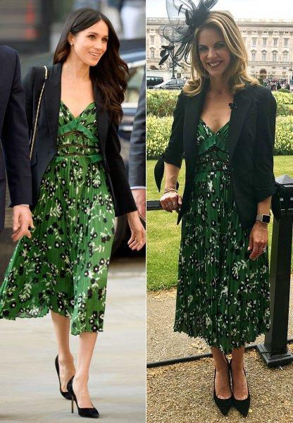 Меган Маркл появилась в таком же платье, что и Натали Моралес