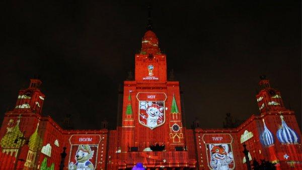 В Москве к ЧМ-2018 открыли фан-зону возле здания МГУ