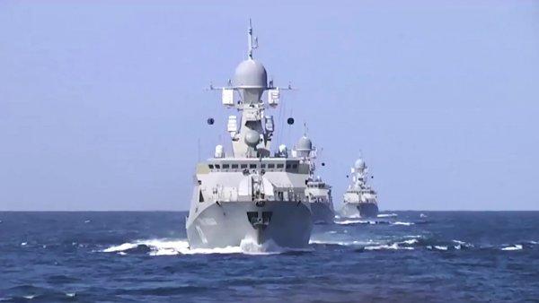 Теперь ВСУ не такие смелые: В Азовском море появились корабли РФ, разбившие ИГИЛ* в Сирии