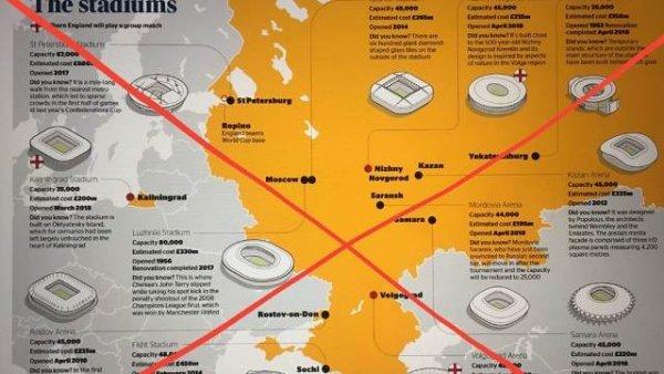 Киев разозлился за карту The Times с российским Крымом