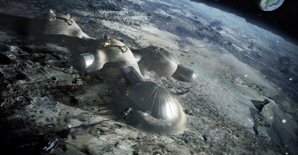 Астронавты США нашли на Луне города инопланетян