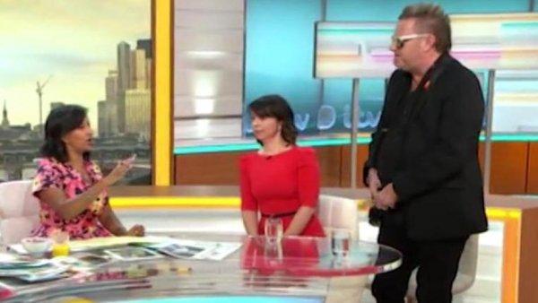 Британец «продемонстрировал яйца» в прямом эфире утренней программы