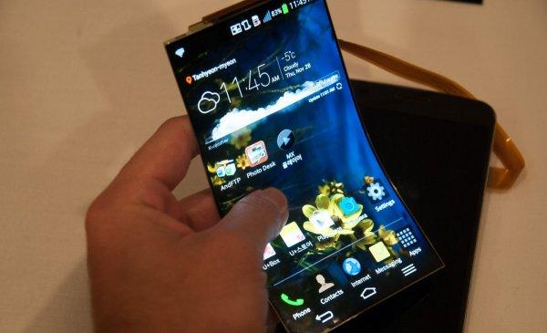 В Сети опубликованы снимки сгибающегося смартфона Samsung Project V