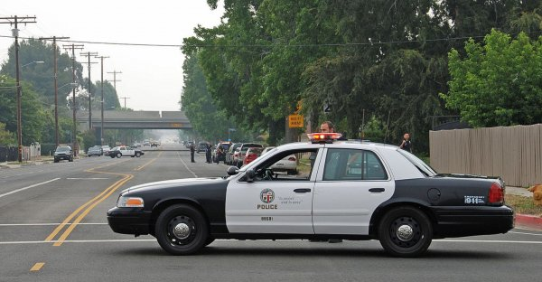В США полицейские застрелили убегающего от них подростка