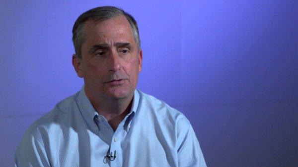 Исполнительного директора Intel выгнали с работы